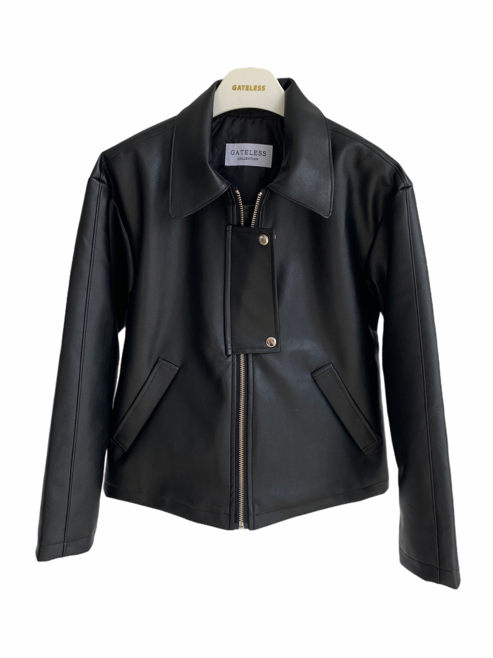 FLICKER LEATHER JACKET